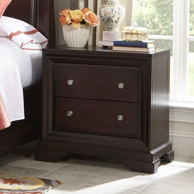 Cresent Furniture Newport 2 Drawer Nightstand