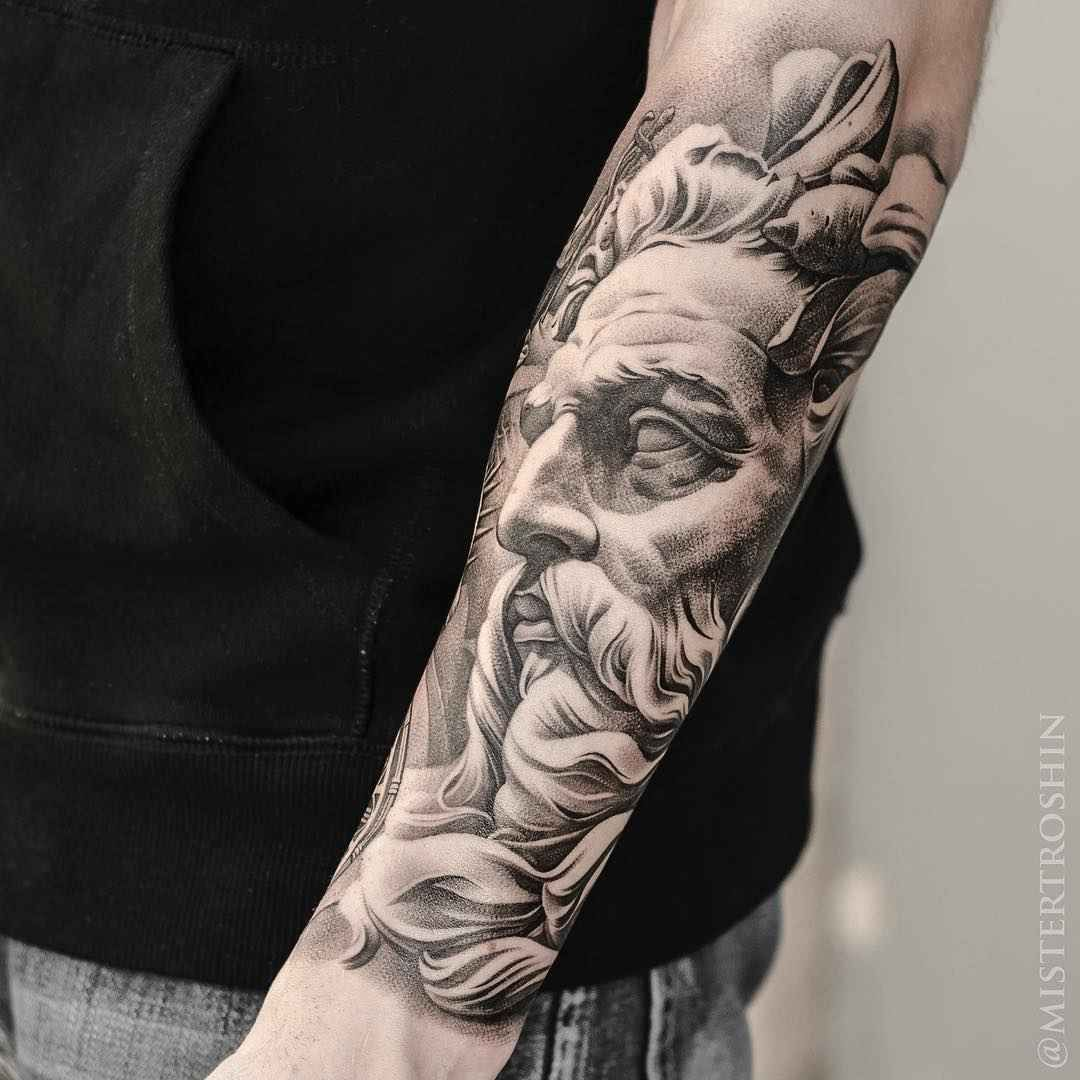 1c219fee4 Engraving by Dmitriy Troshin | Sleeve tattoos | Tattoos, Sleeve ...