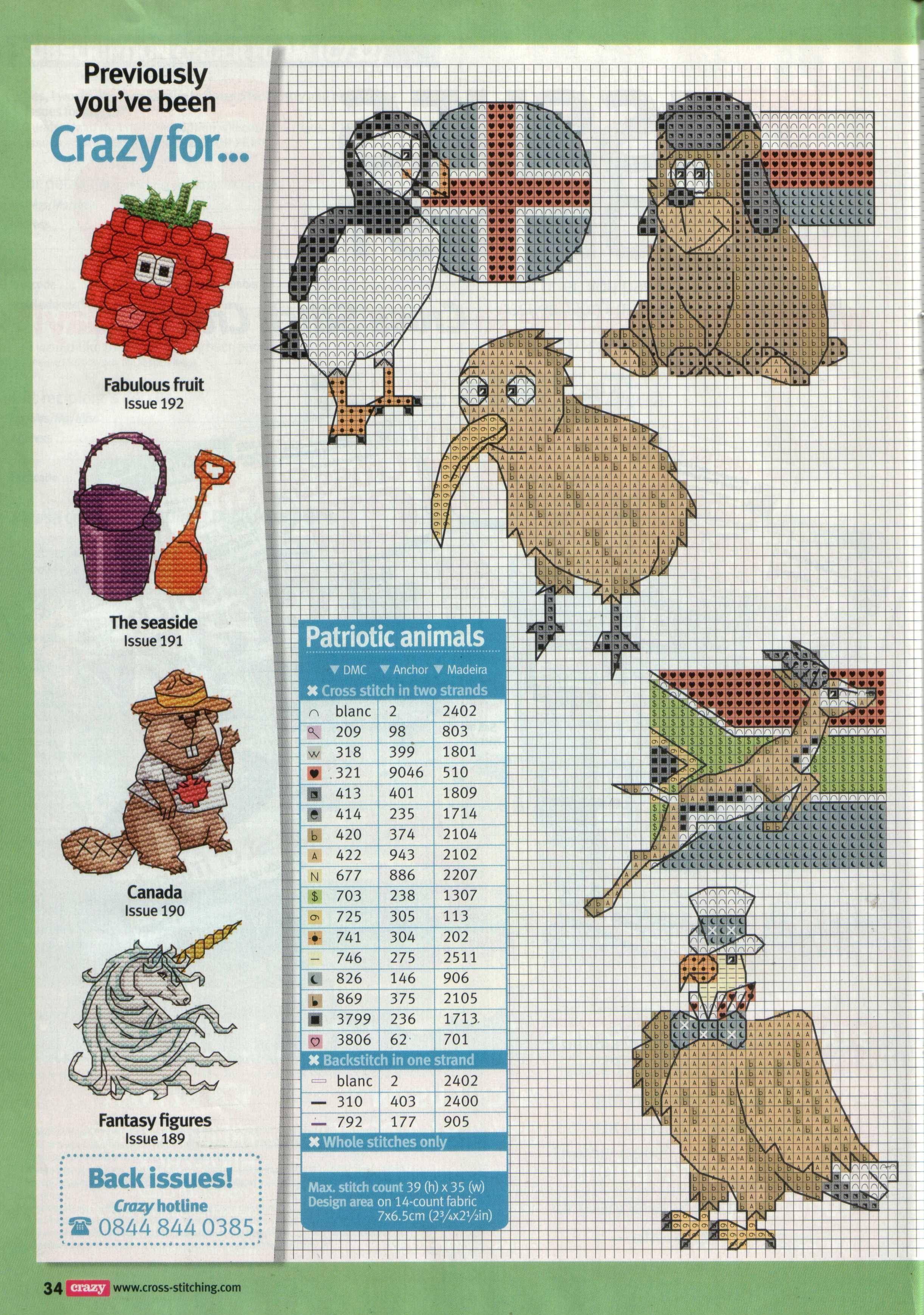 Cross Stitch Crazy 193 | Embroidery little | Pinterest