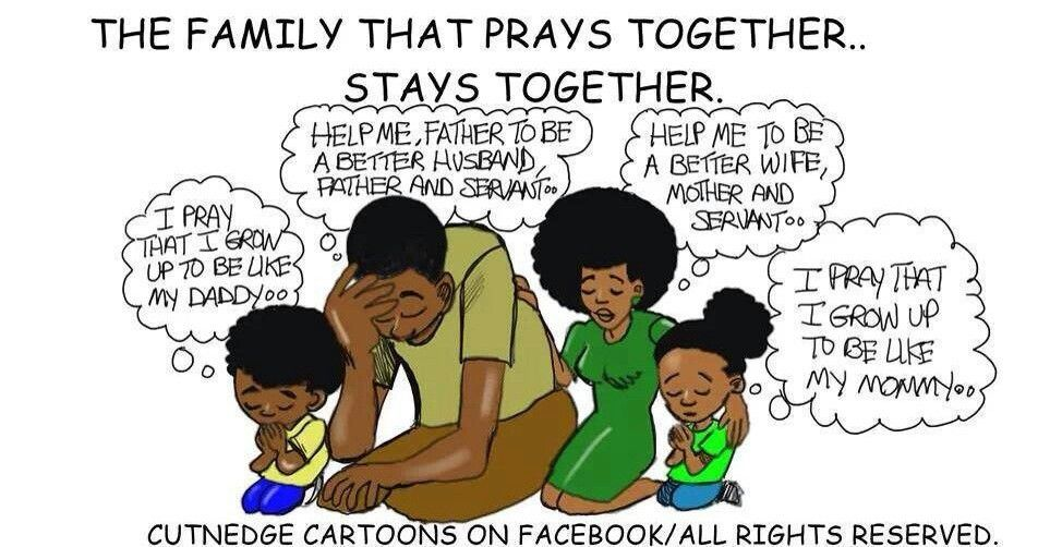 Family that prayers together stays together | Good good ...