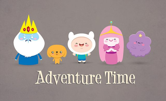 Just realised that there was no adventure time on my entertainment board. What's up with that???