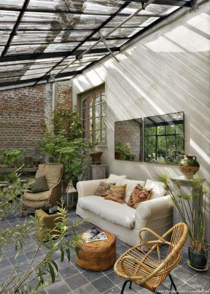 Un jardin d'hiver