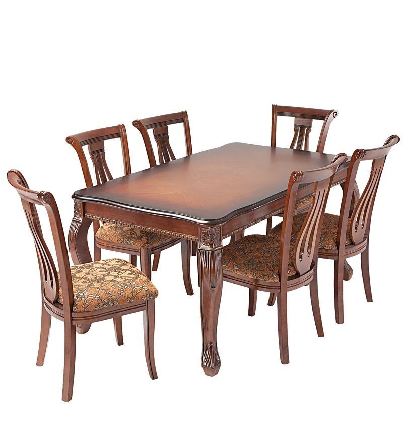 Nilkamal Daisy Dining Set 1 Table And 6 Chairs Nilkamal
