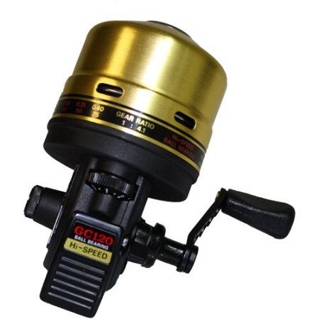 Daiwa Goldcast Spincast Reel, Multicolor
