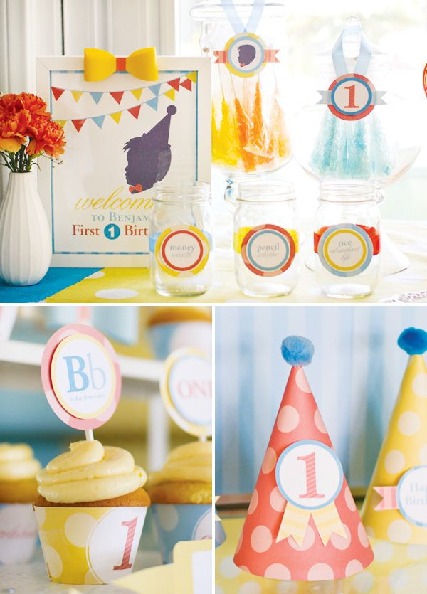 Great ABC Party Decor For Boys First Birthday
