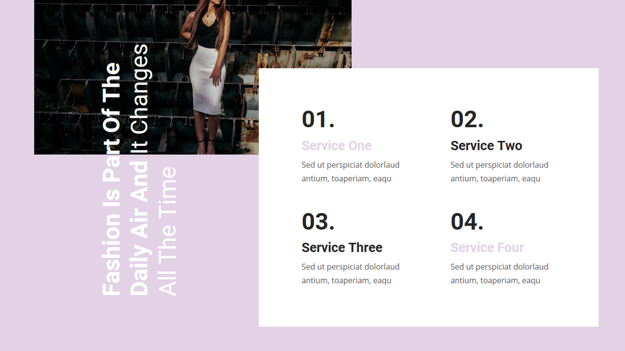 Stylie - Fashion PowerPoint Template #Fashion, #Stylie