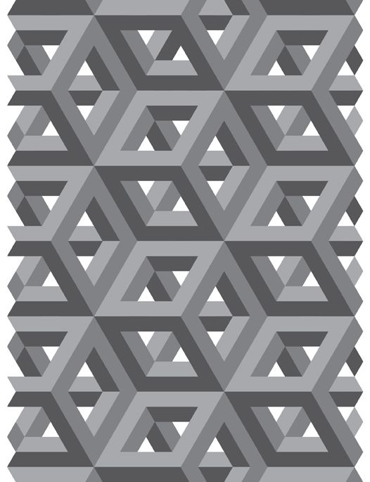 pictures of Tessellation art | Gray Tessellation by ~Humble-Novice ...