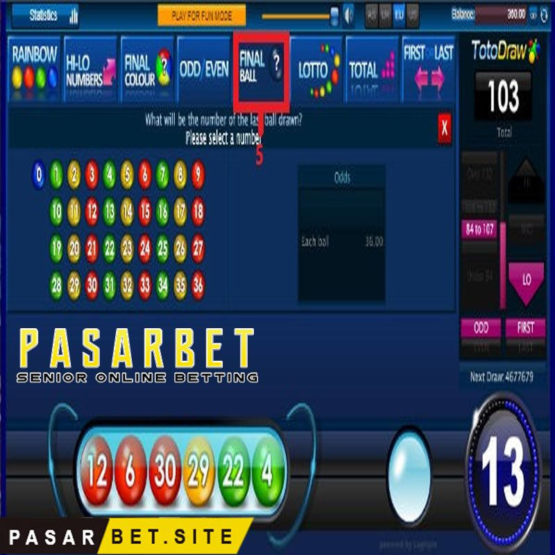 Toto Draw Sbobet Main Game Game Mainan