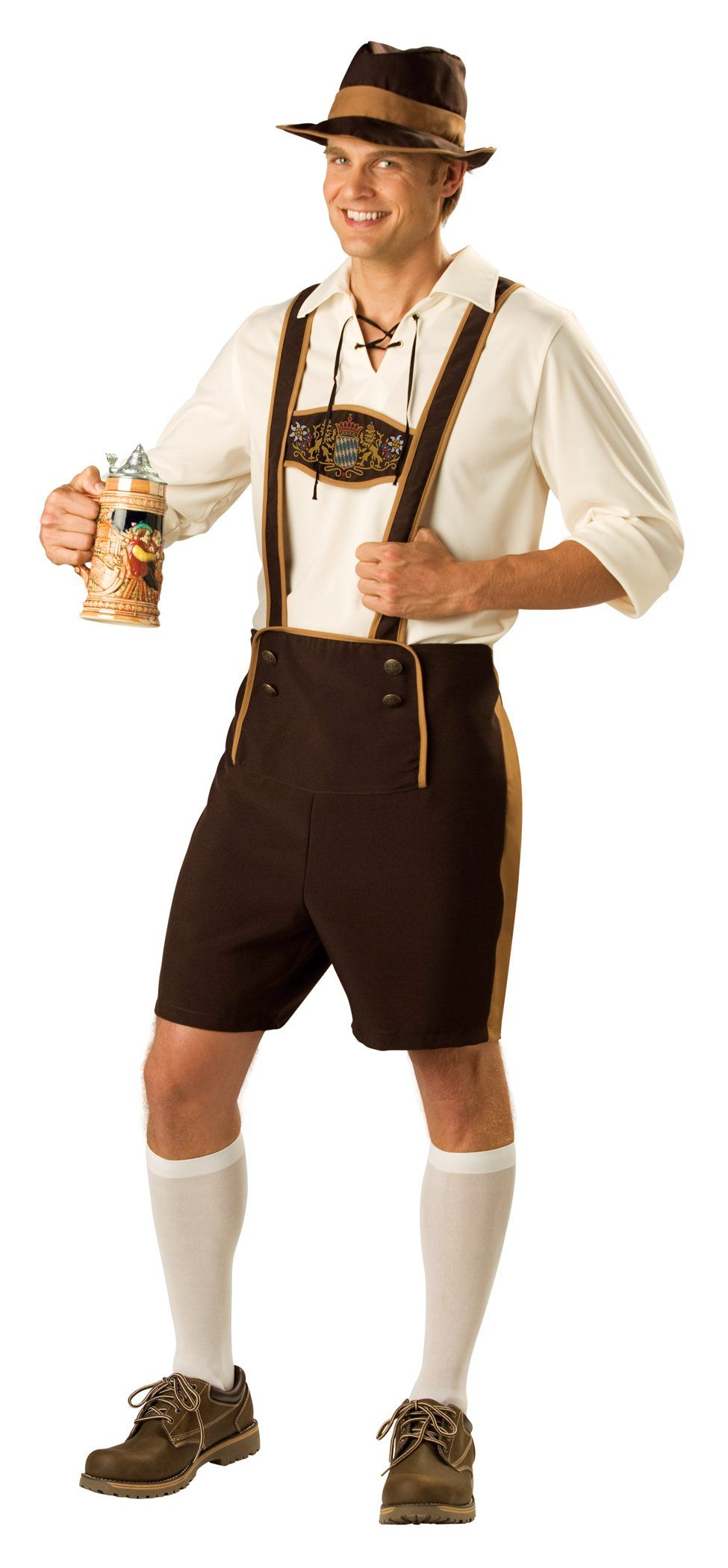 6151daacf7b Amazon.com: InCharacter Costumes, Men's Bavarian Guy Costume with ...