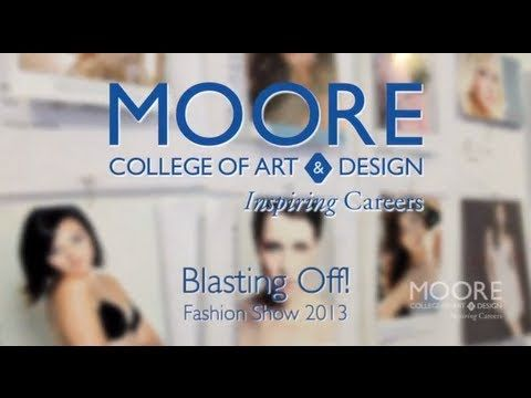 Video Collections From The Fashion Design Major At Moore College Of Art Design College Art Art Careers Moore