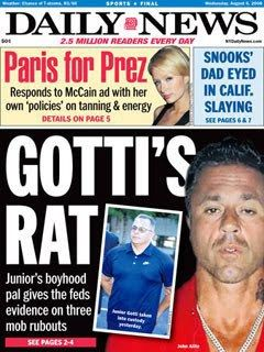 John A Junior Gotti Bounty On Mob Rat Better Call Bill Warner Investigations Cheaters And Child Custody Cases Sarasota 941 926 Child Custody Mob Custody