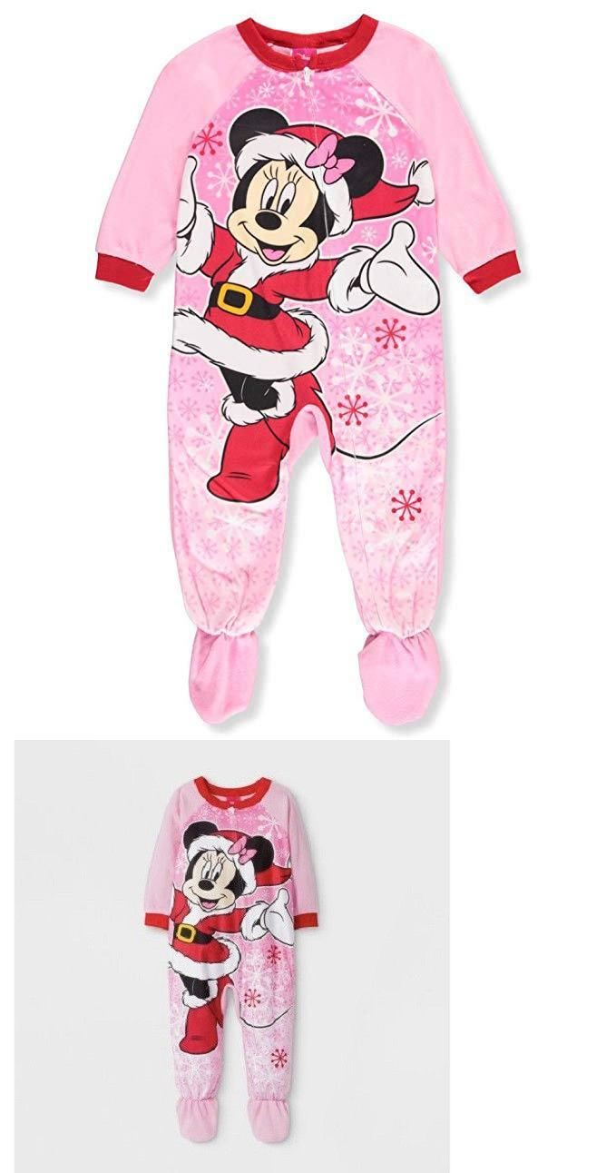 New Disney Minnie Mouse toddler girls pajamas 9M 12M 18M 24M Minnie Mouse