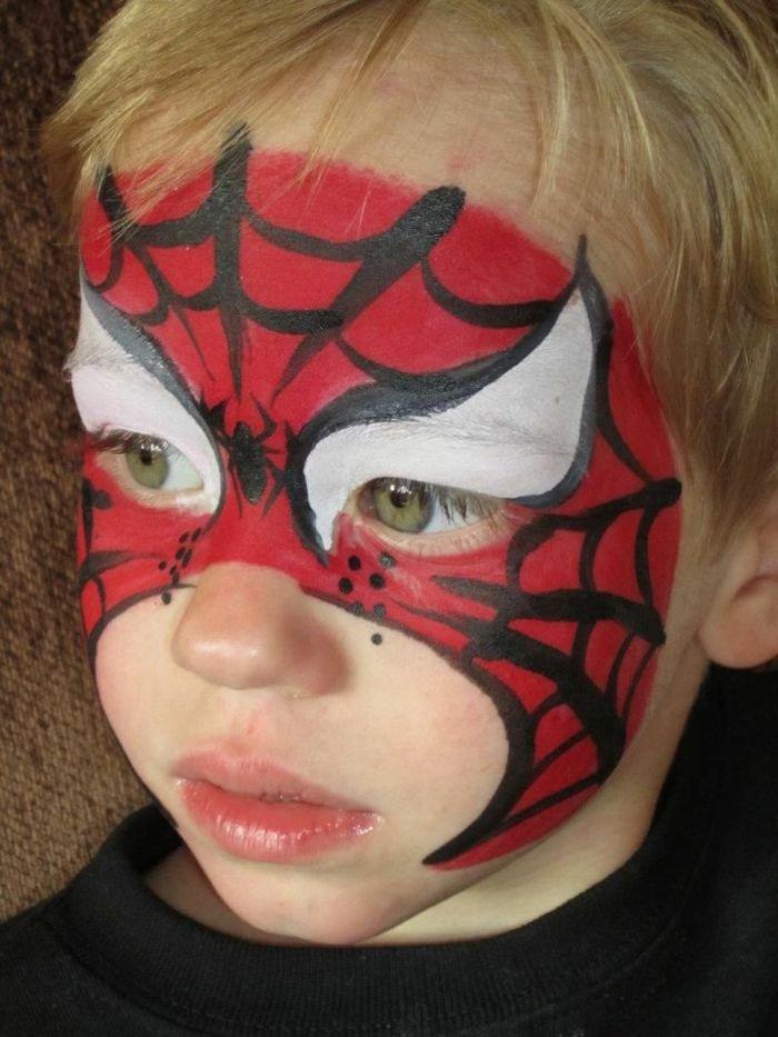Maquillage Halloween Facile Batman : 1001 id es cr atives pour maquillage pour enfants ~ Pogadajmy.info Styles, Décorations et Voitures