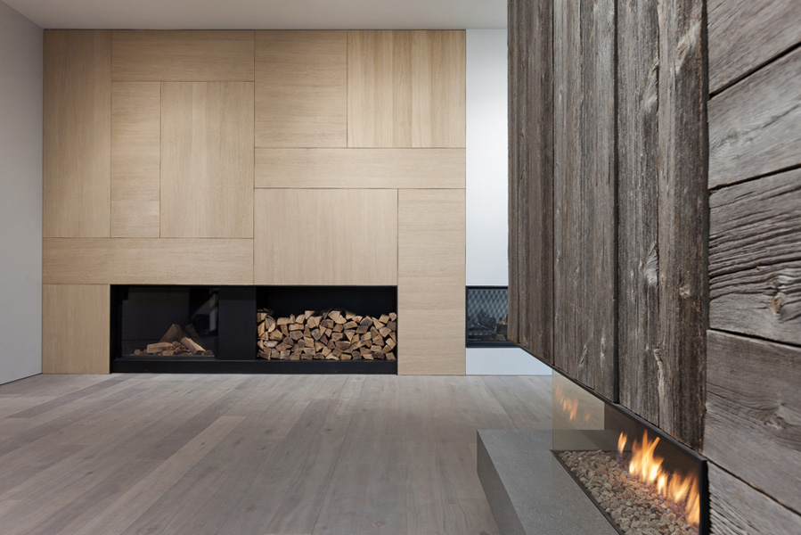 Materials de puydt ontwerp hedendaagse haard fire elements