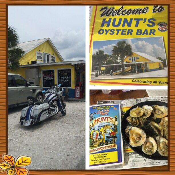Hunts Oyster Bar Panama City Beach Fl
