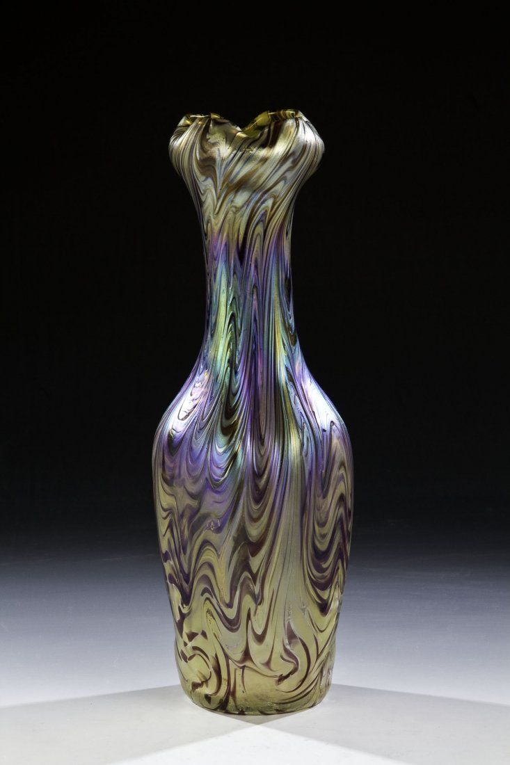Art glass vase by wilhelm kralik sohn eleonorenhain art glass art glass vase by wilhelm kralik sohn eleonorenhain reviewsmspy