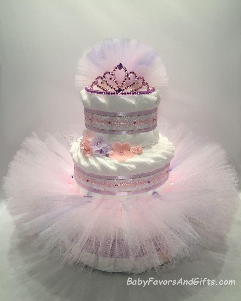Ballerina Tutu Diaper Cake Babyfavorsandgifts Com Baby Girl Diaper Cake Trendy Baby Shower Themes Ballerina Baby Showers