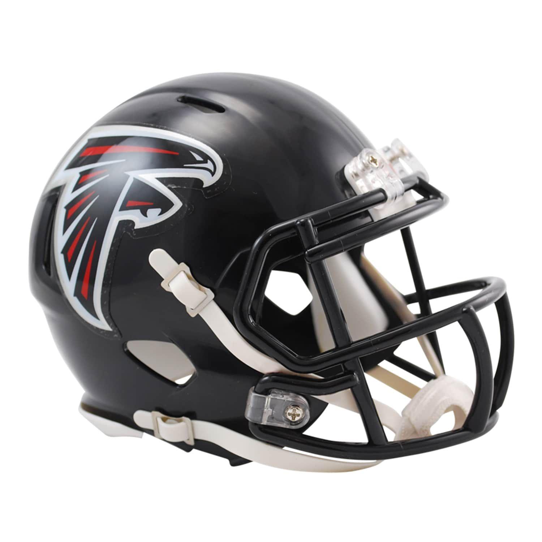 Riddell Atlanta Falcons Revolution Speed Mini Replica Helmet Falcons Revolution Riddell Atlanta Football Helmets Mini Football Helmet Mini Footballs