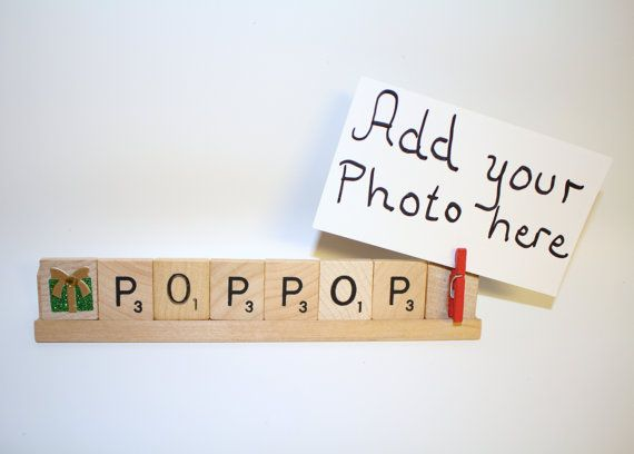 Pop Pop Photo, Pop Pop Frame, Pop Pop Christmas Photo, Christmas ...