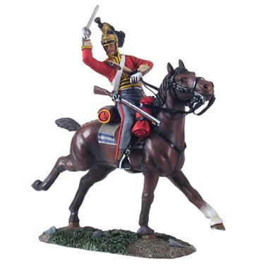 36063 British 1st Royal Dragoon Trooper Charging No.3    Napoleonic Wars, 54mm Model Soldiers    W. Britain, William Britain or simply Britains