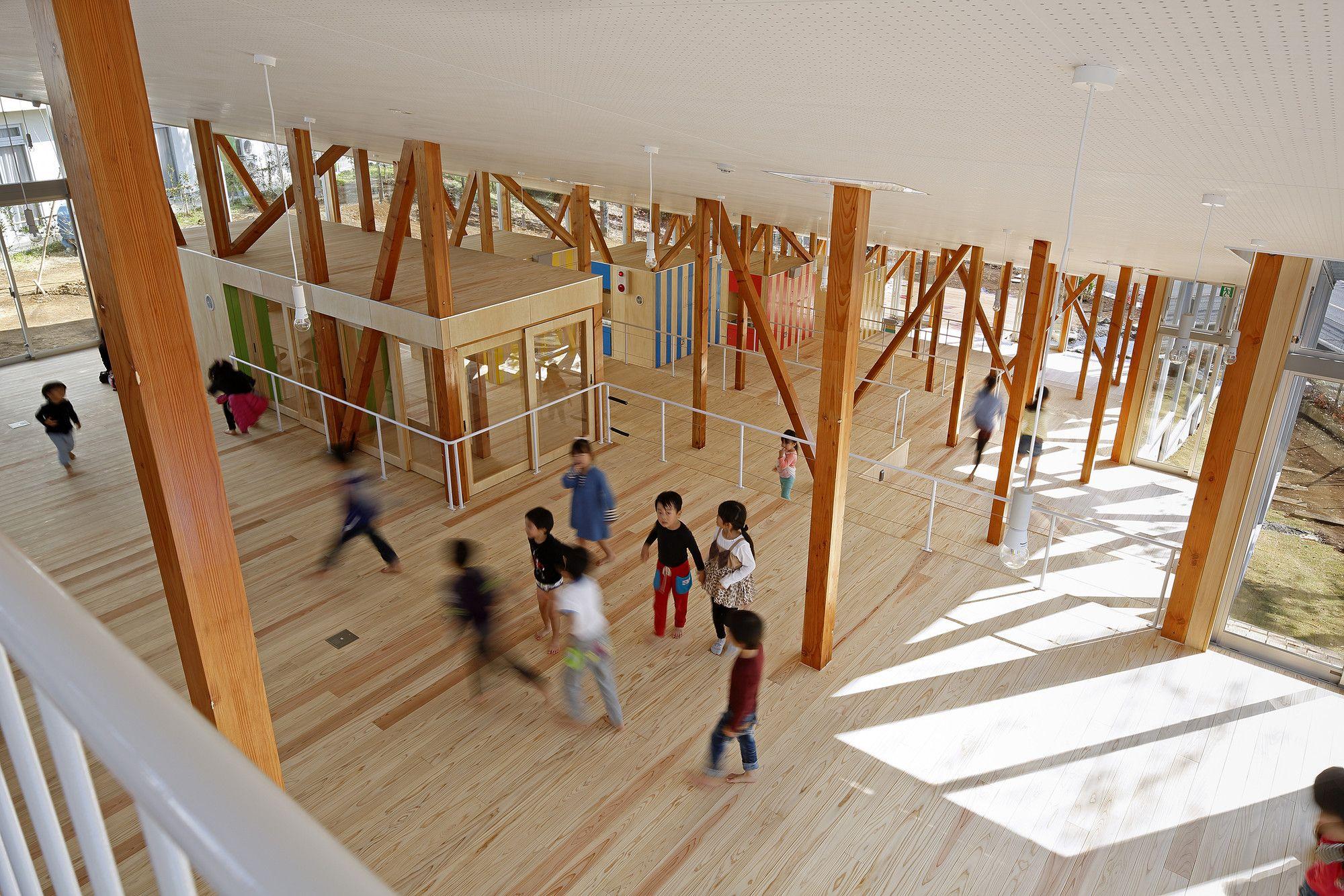 Gallery Of Hakusui Nursery School Yamazaki Kentaro Design