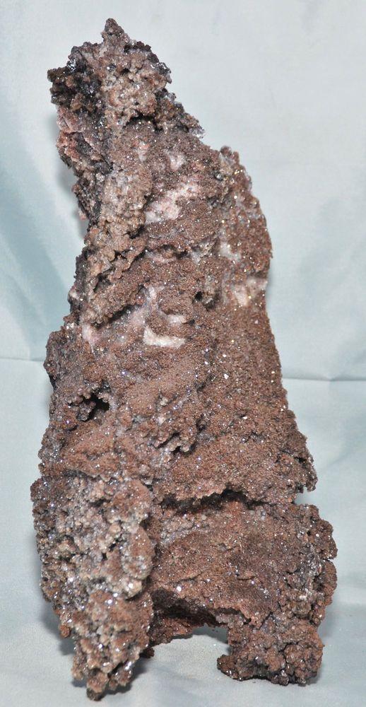 Large Sparkly Chocolate Brown Calcite Specimen Santa Eulalia Mining District