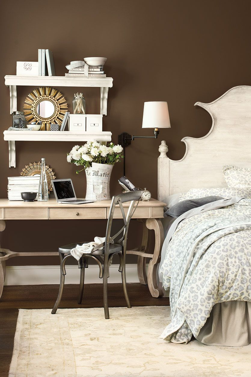 4 Ways to Put a Desk to Work Home bedroom, Home, Furniture