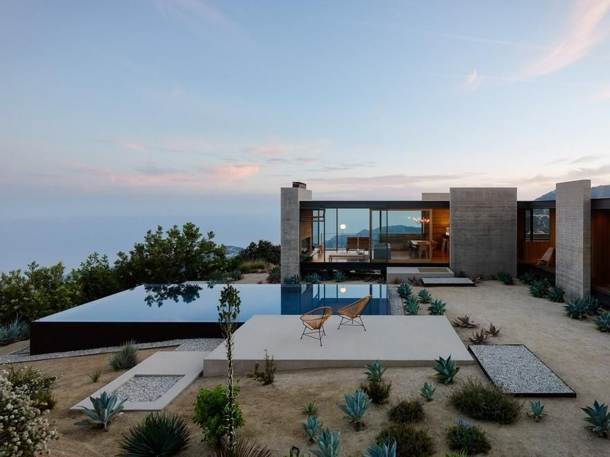 A Modernist Desert House In Santa Monica A Modernist Desert House in Santa Monica Modernist House modernist house