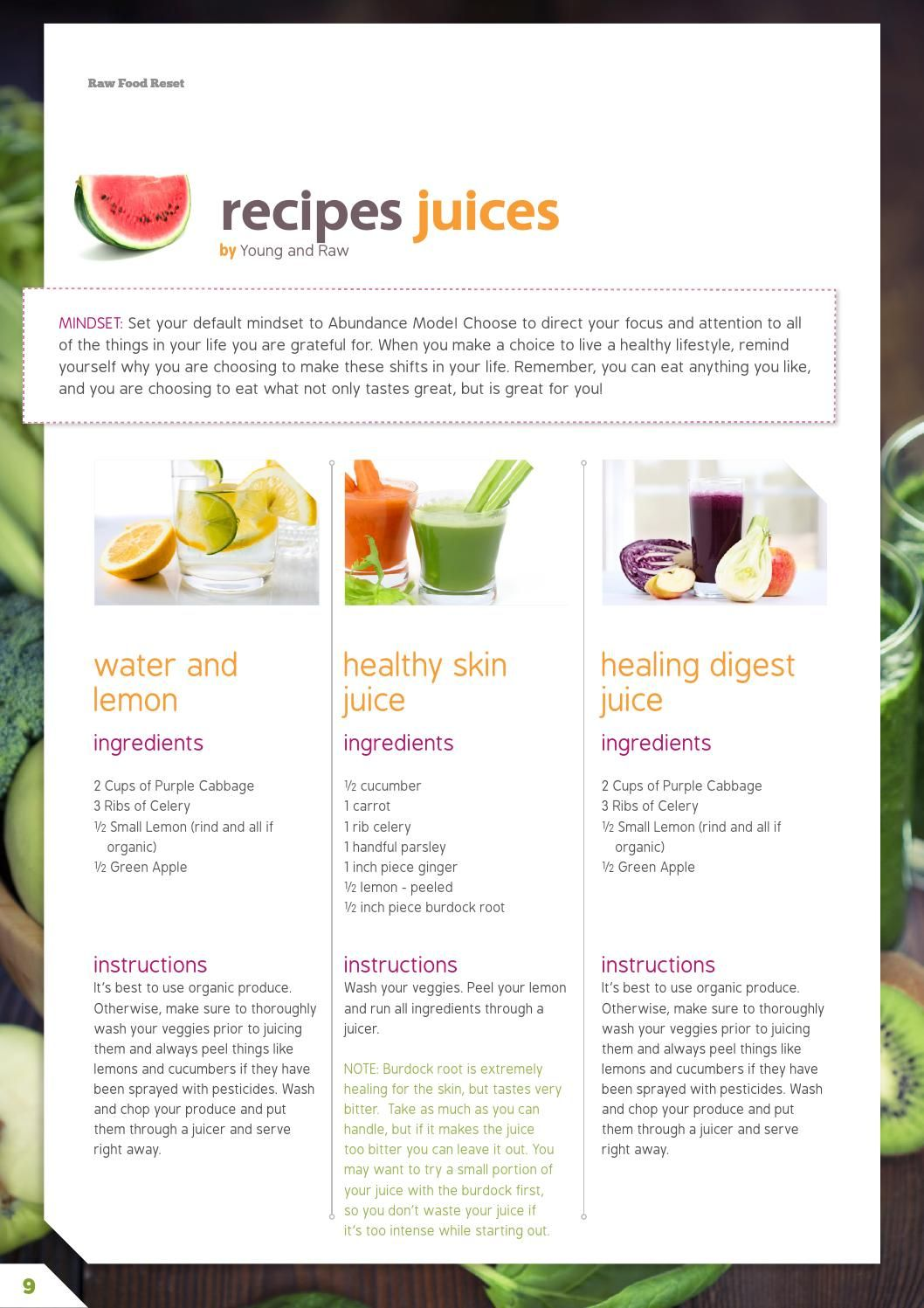 raw diet in a day