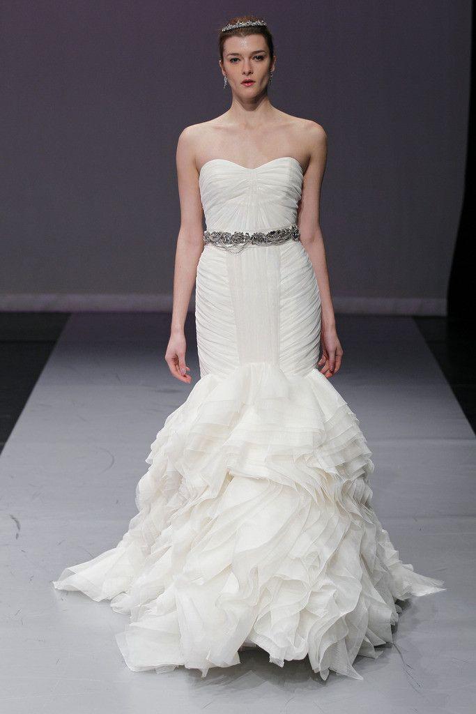 Black diamond crystal belt by Rivini (The dress is called Contessa ...