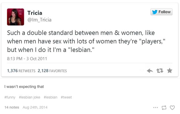 lesbians have double