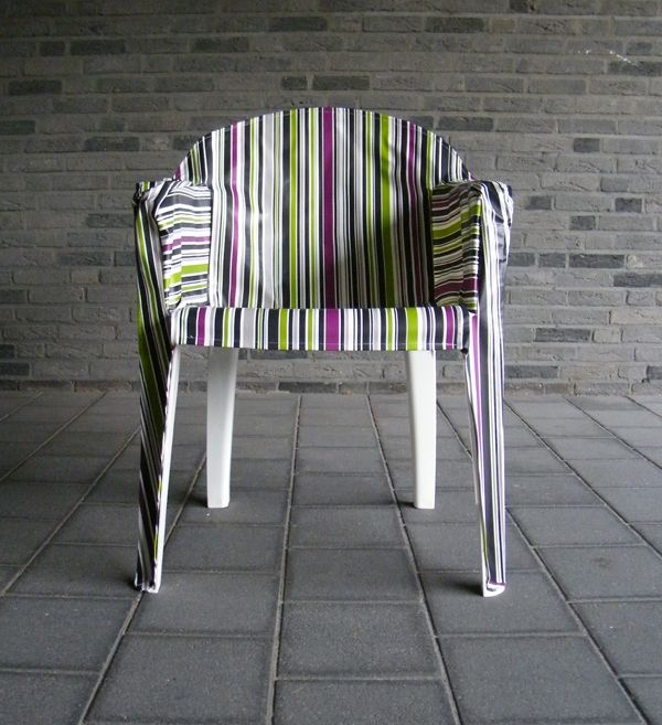plastic chair upholstery DIY garden furniture ideas and outdoor