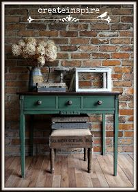 {createinspire}: Vintage Console Table