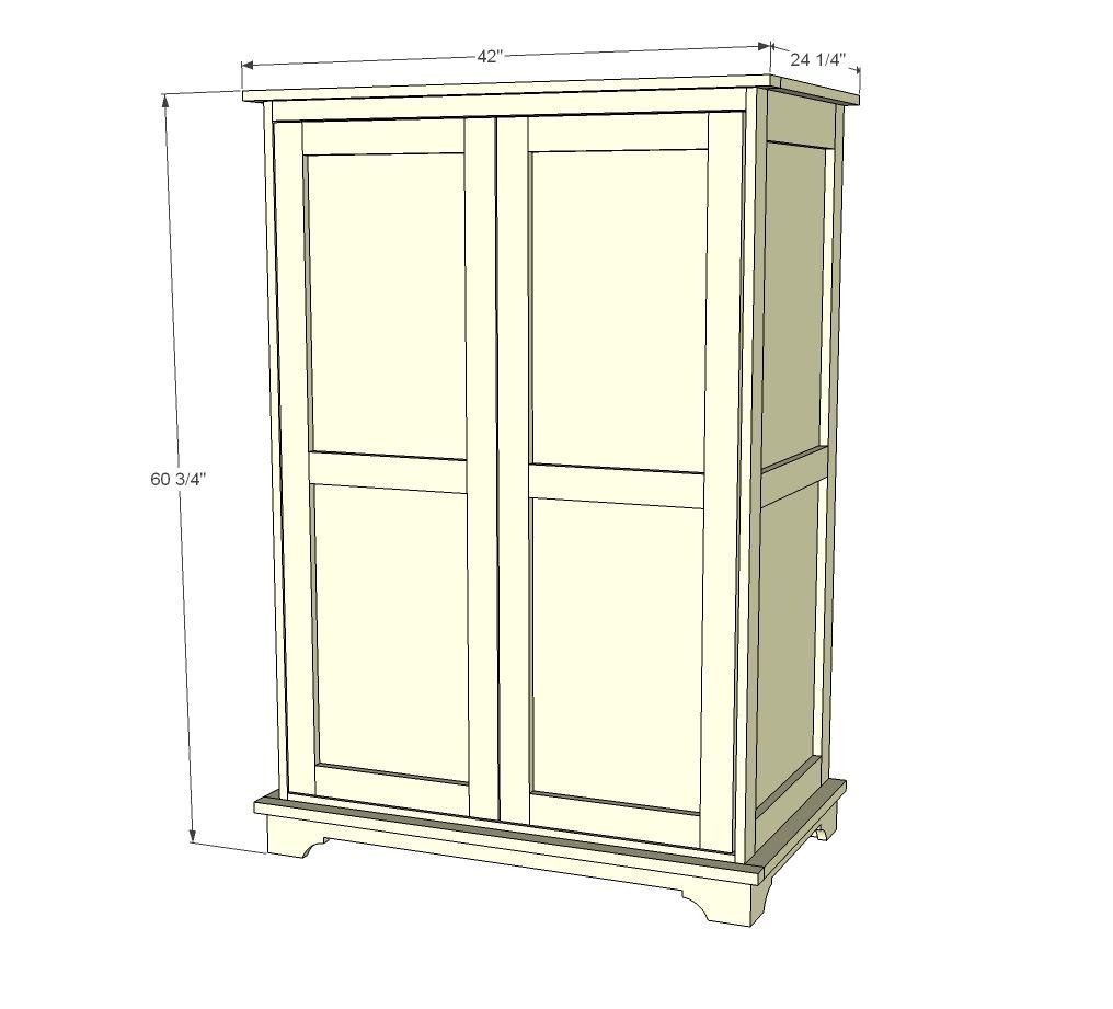Building An Armoire New House Ideas Diy Storage