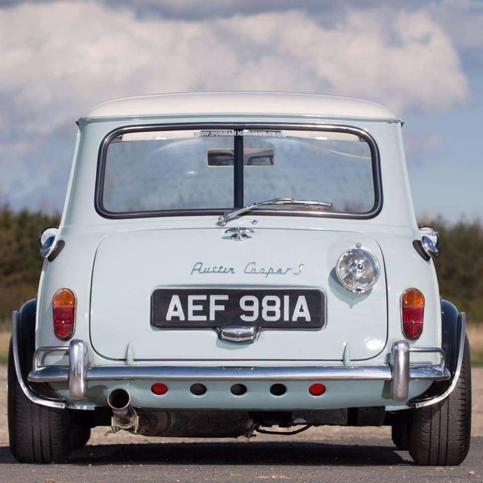 1965 Austin Mini Cooper S 1275 Autentic For Sale Rear  Auto