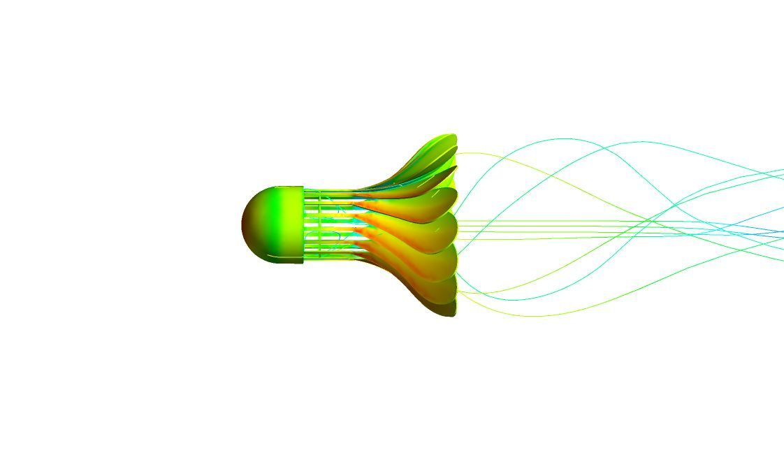 Shuttlecock Simulation with ANSYS Fluent | Simulation | Computer