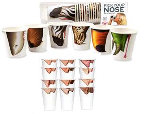 Pick your nose. / Escolha seu nariz.