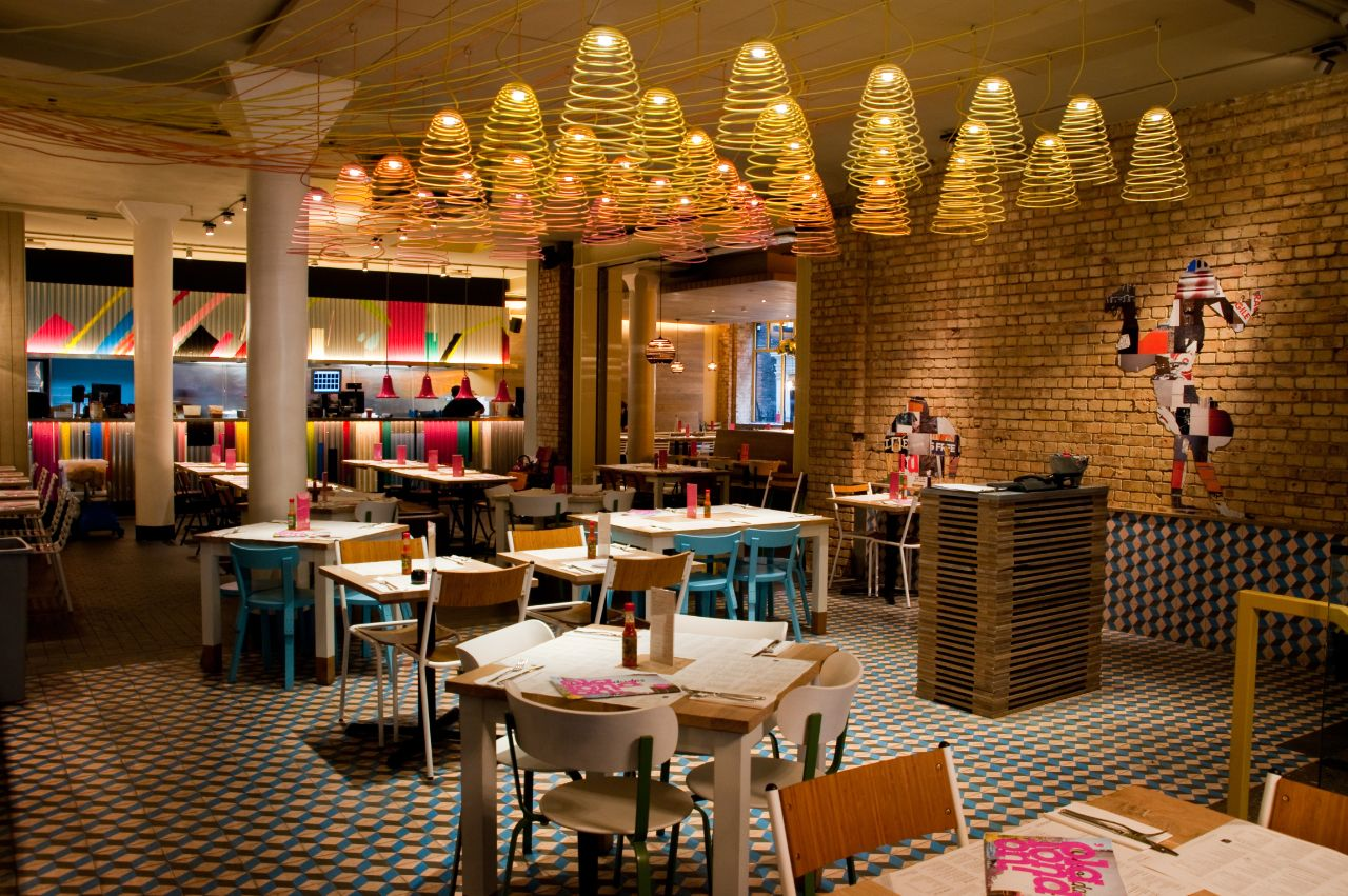 Wahaca restaurant Covent Garden | Restaurant interior ...