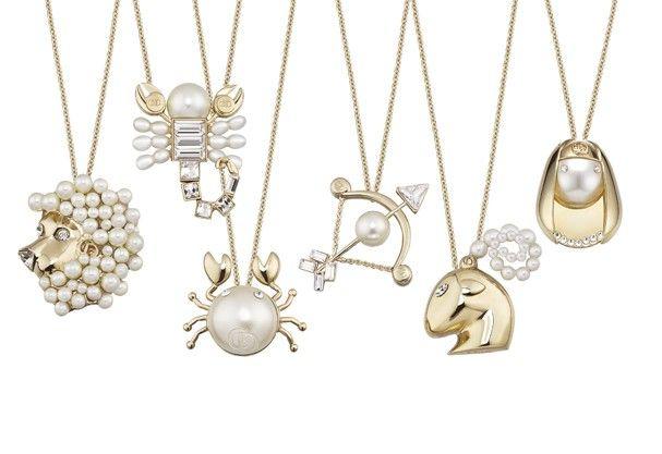 414ff3481b7 Dior lança coleção de colares inspirados nos 12 signos do zodíaco in ...