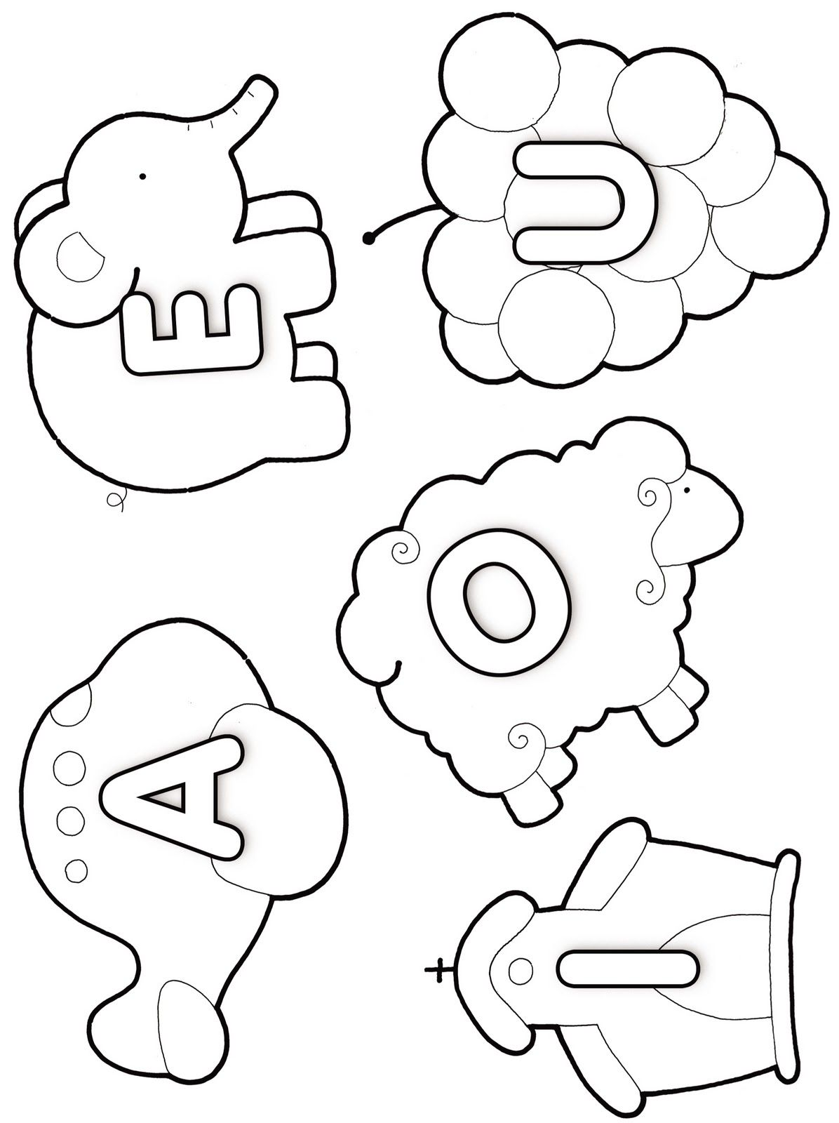 Vocales Más | magui | Pinterest | Preescolar, Actividades y Escuela