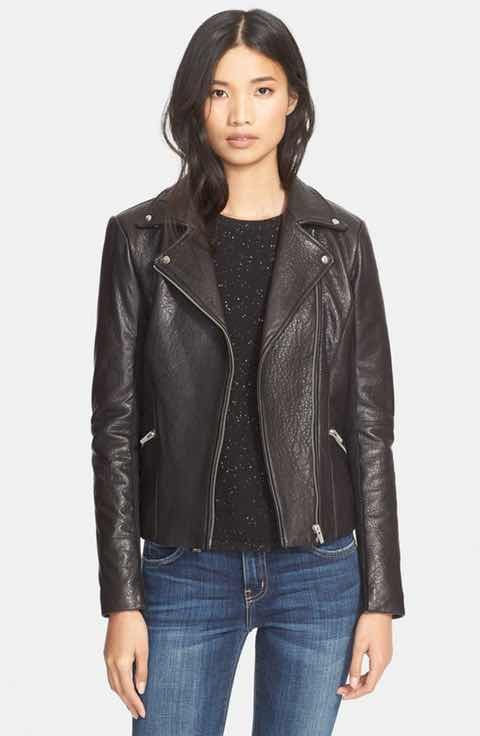 aa026feb2 Veda Dallas Lambskin Leather Jacket | looks for Laurie | Lambskin ...