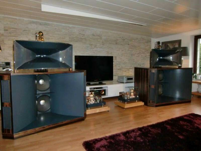 JBL Super Horns | Stereophile in 2019 | Audio room, Audiophile