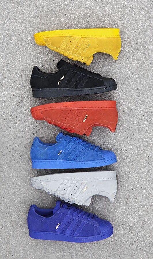 adidas Originals Superstar 'City Pack' | Sapatos nike