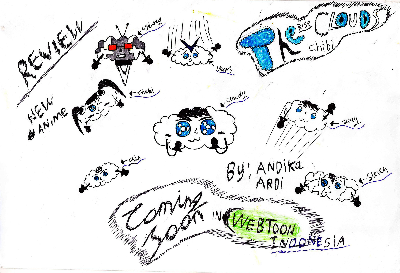 the rise chibi clouds animasi indonesia terbaru Animasi