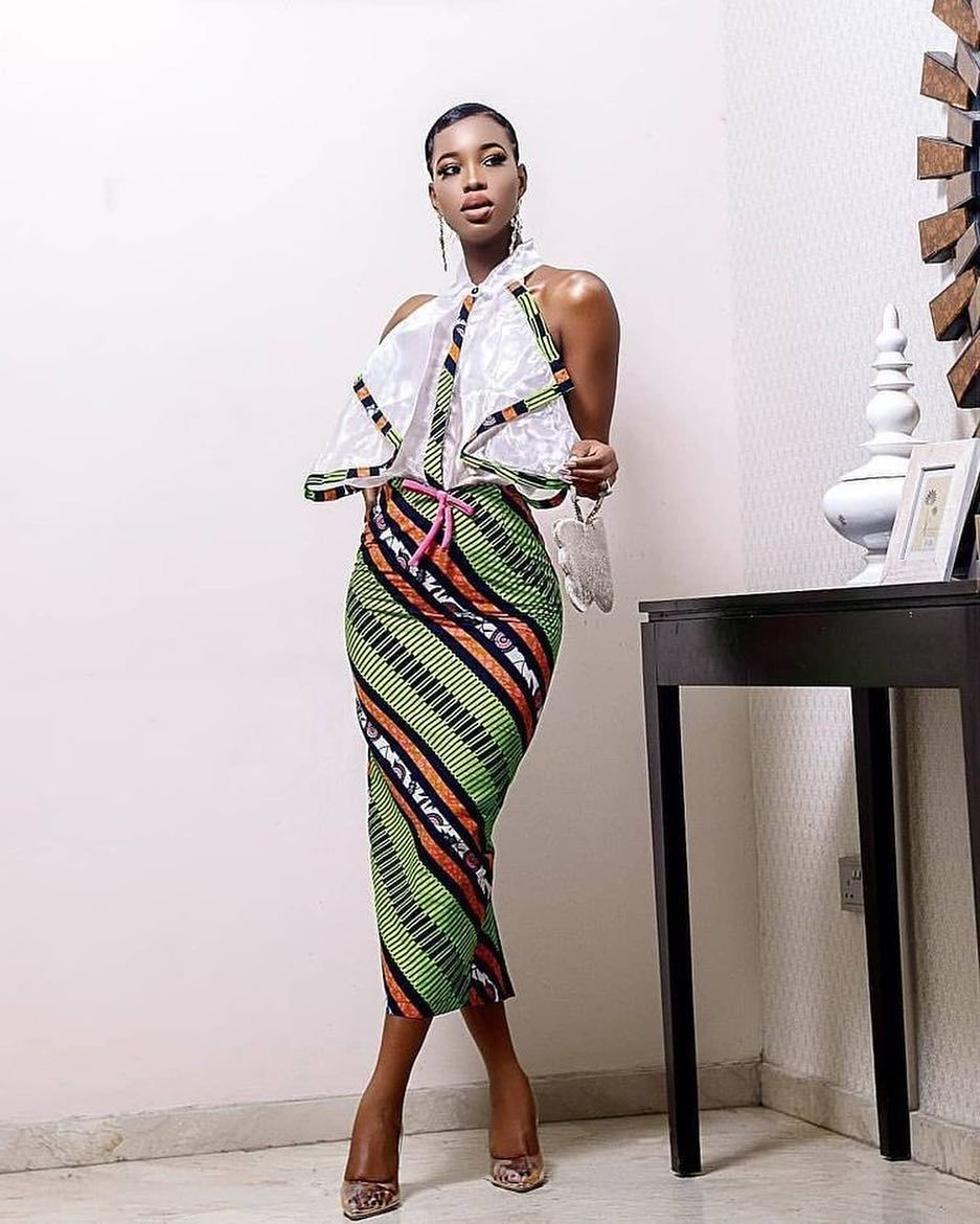 8af918938e7c All the stylish Spring Ankara Print Outfits and latest short hairstyles,  bridesmaids dresses and wedding guest outfit ideas #hairstyles #bridesmaids  ...