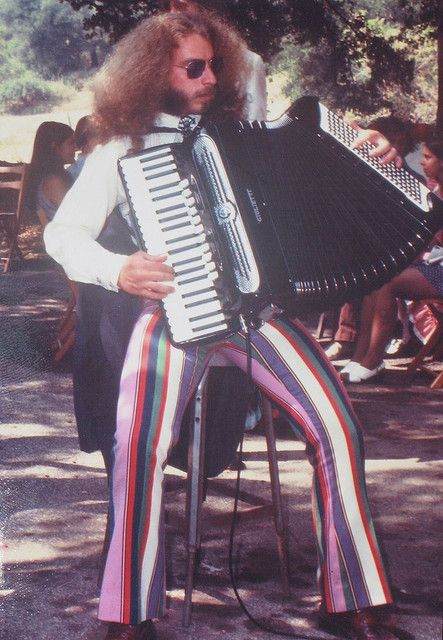 accordions in the 1970s