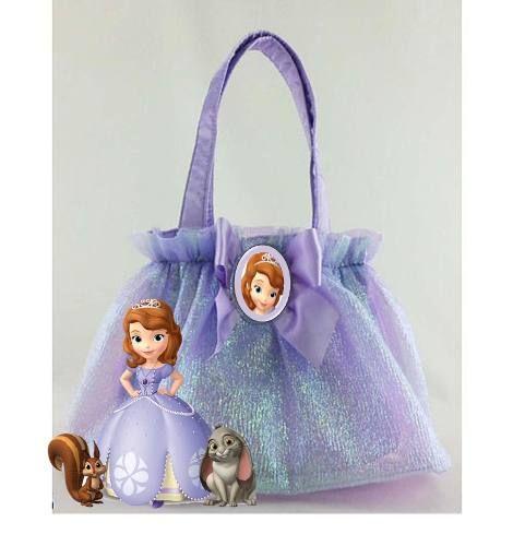 d8c9b4e8e bolsitas hechas de tela para niñas - Buscar con Google Decoracion Princesa  Sofia, Cumple Princesa
