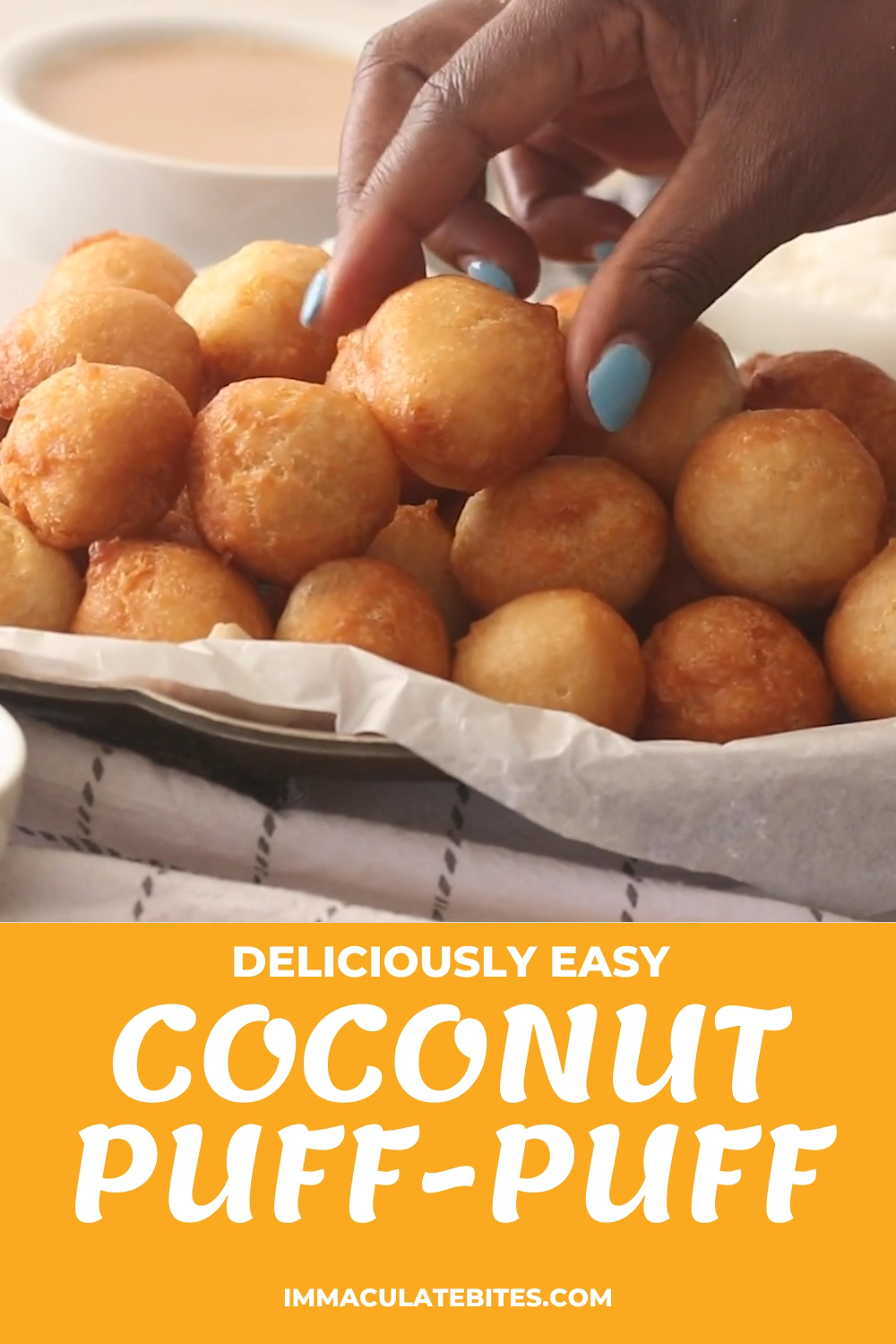 Coconut Puff-Puff (Deep-Fried Coconut Dough)