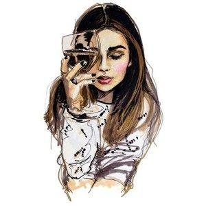 girl illustration drawing - Google Search