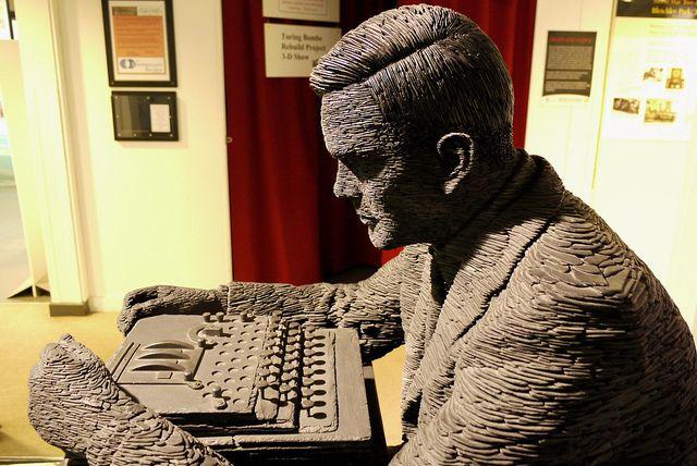 Alan Turing Sculpture Bletchley Park Bletchley Park Bletchley